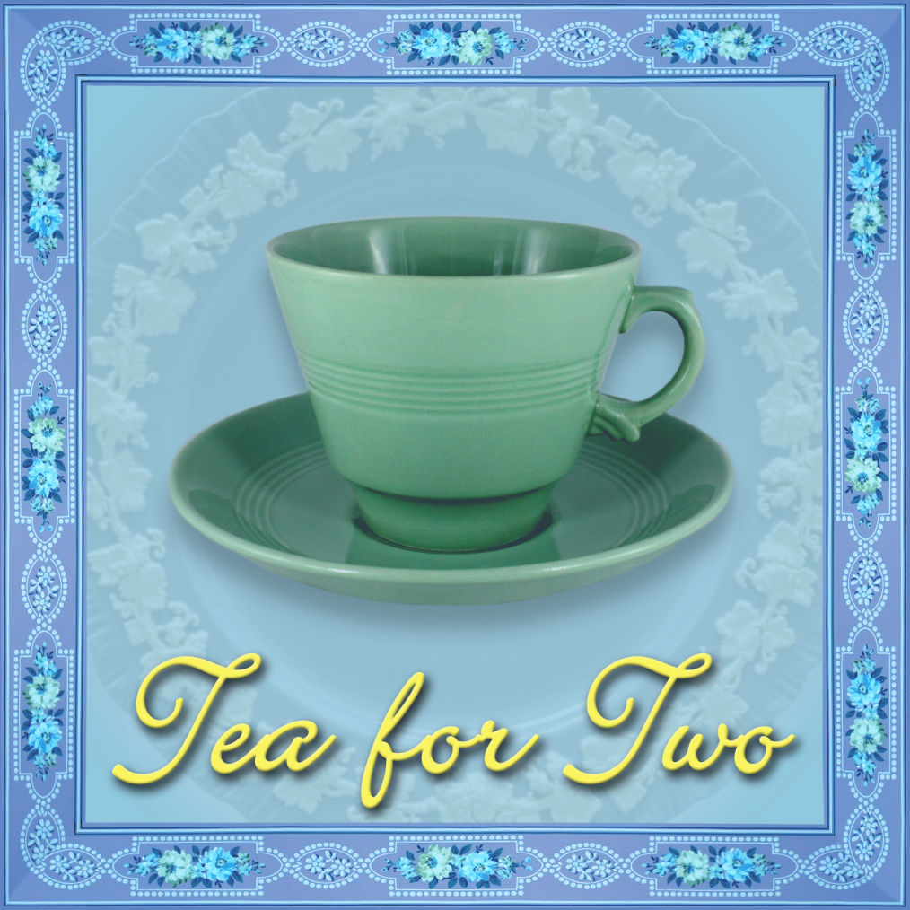 Tea for Two 1920s 1930s 1940s